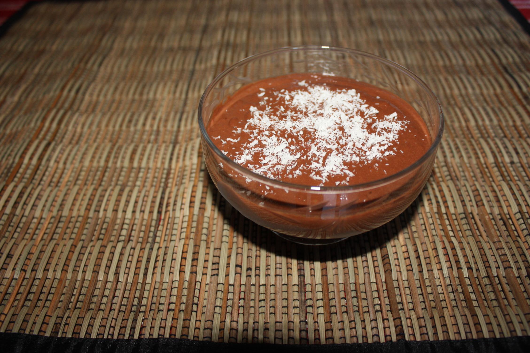 Mousse Al Cioccolato E Cocco – Piatto Pronto