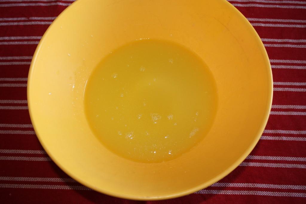 torta di frutta - ingredienti liquidi
