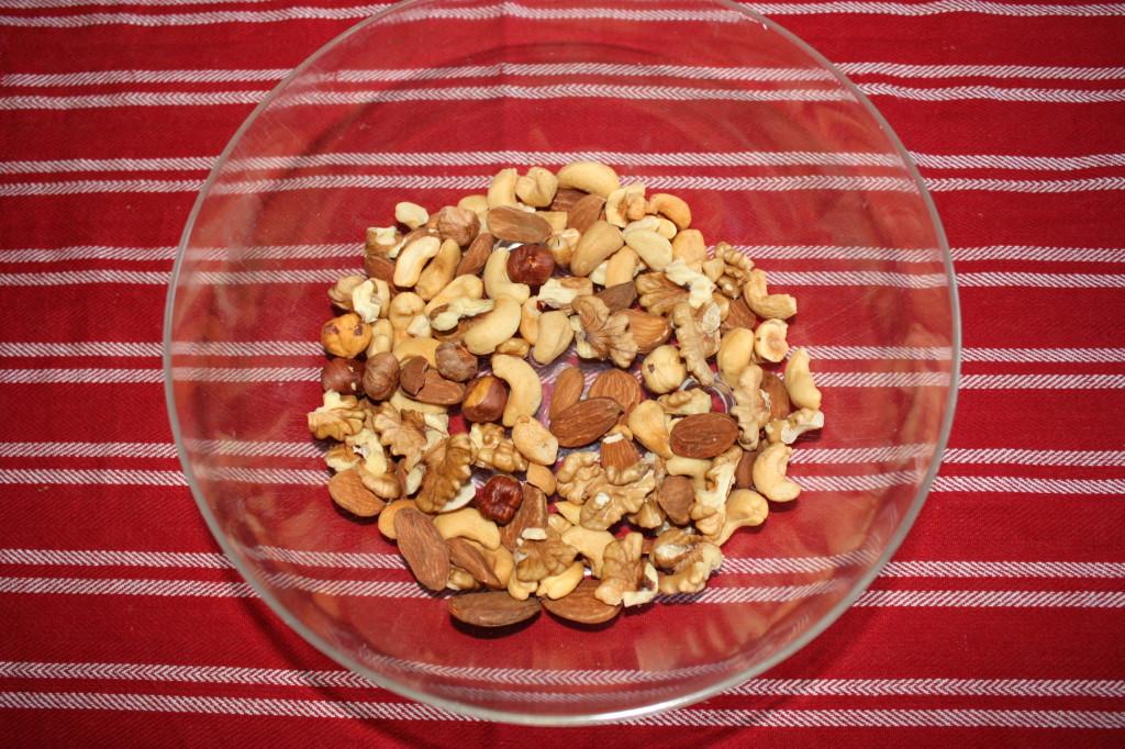 salame al cioccolato - frutta secca