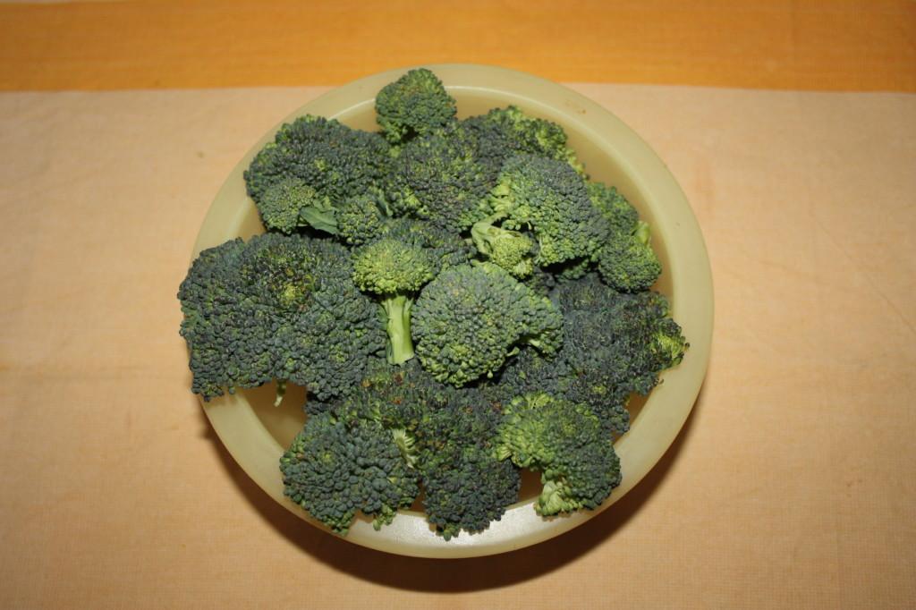 palline ai broccoli - lavare i broccoli