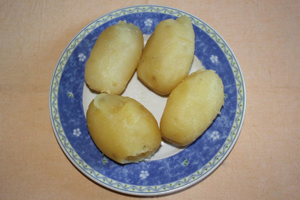 crocchette di patate aromatizzate - patate lesse