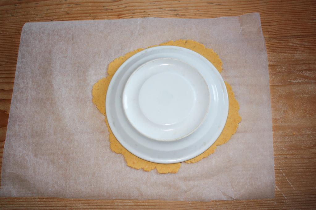 nachos - tagliare la parte in eccesso