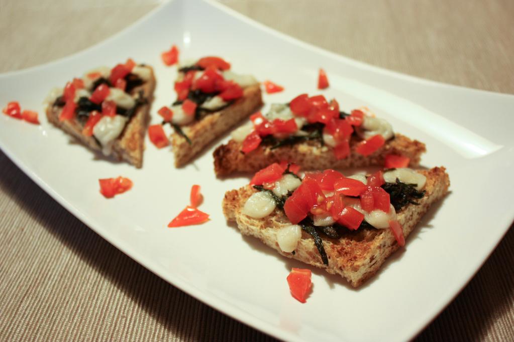 Crostini Di Asparagi – Piatto Pronto