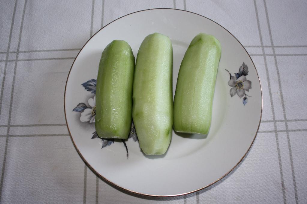 salsa tzatziki - pelare i cetrioli