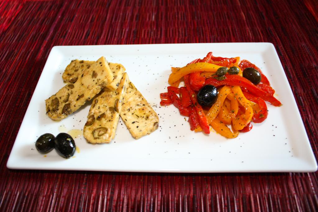 Tofu Grigliato Con Peperoni Croccanti – Piatto Pronto