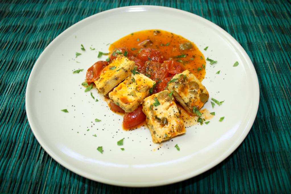 Tofu Alla Pizzaiola – Piatto Pronto