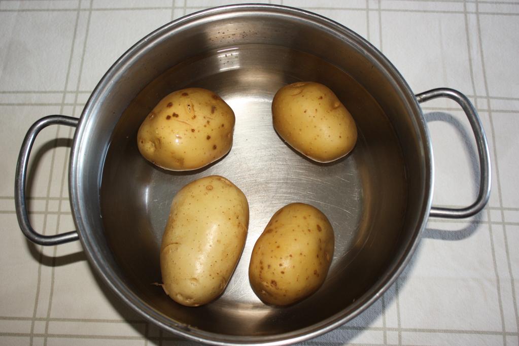 skordalia - lessare le patate
