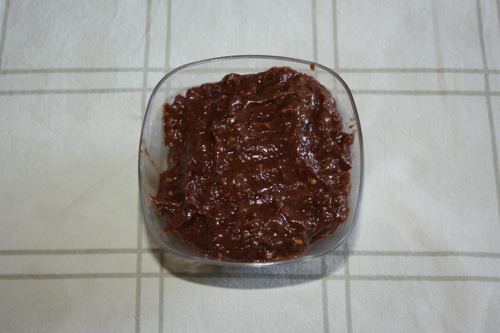 tartufini raw - ingredienti frullati