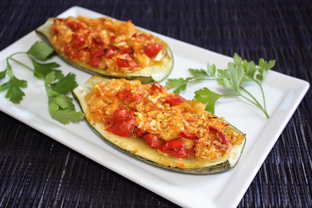 Barchette Di Zucchine Ripiene – Piatto Pronto