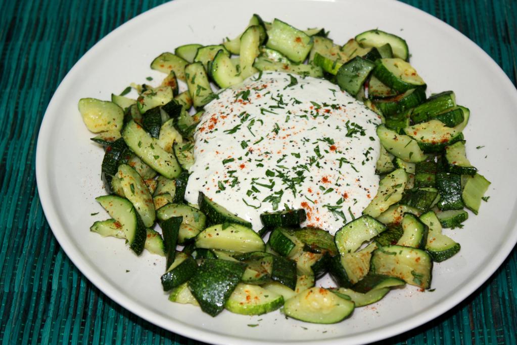 Zucchine Saltate Con Tofu Cremoso – Piatto Pronto