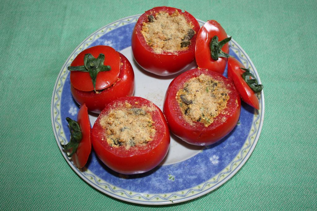 pomodori ripieni - riempire i pomodori