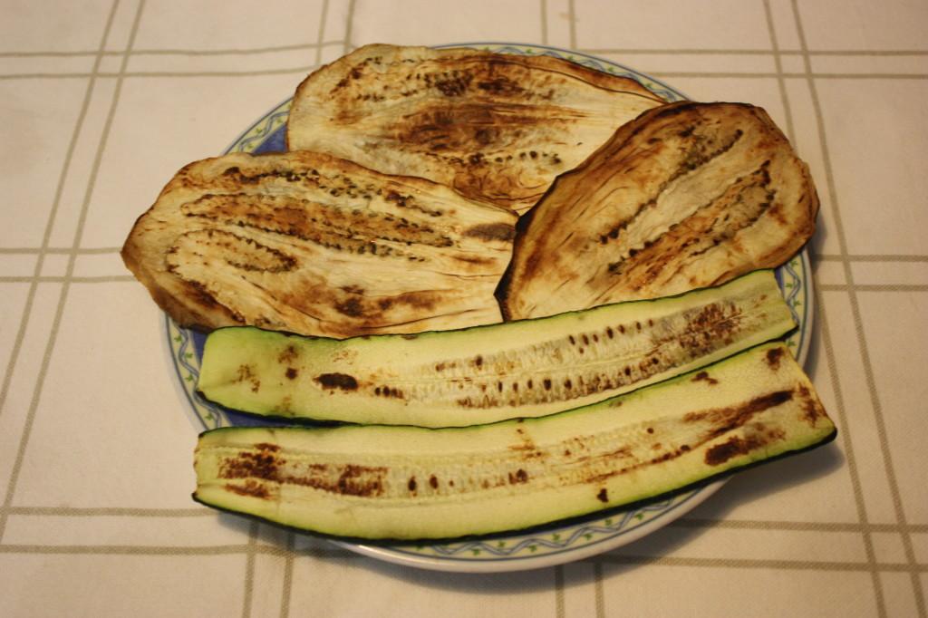 Involtini di verdura con ripieno agrodolce - verdure grigliate