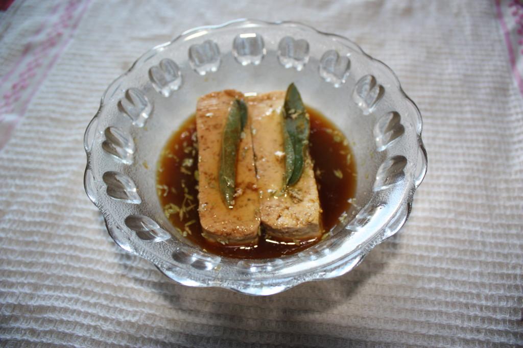 trofie con zucchine e tofu marinato - marinare il tofu