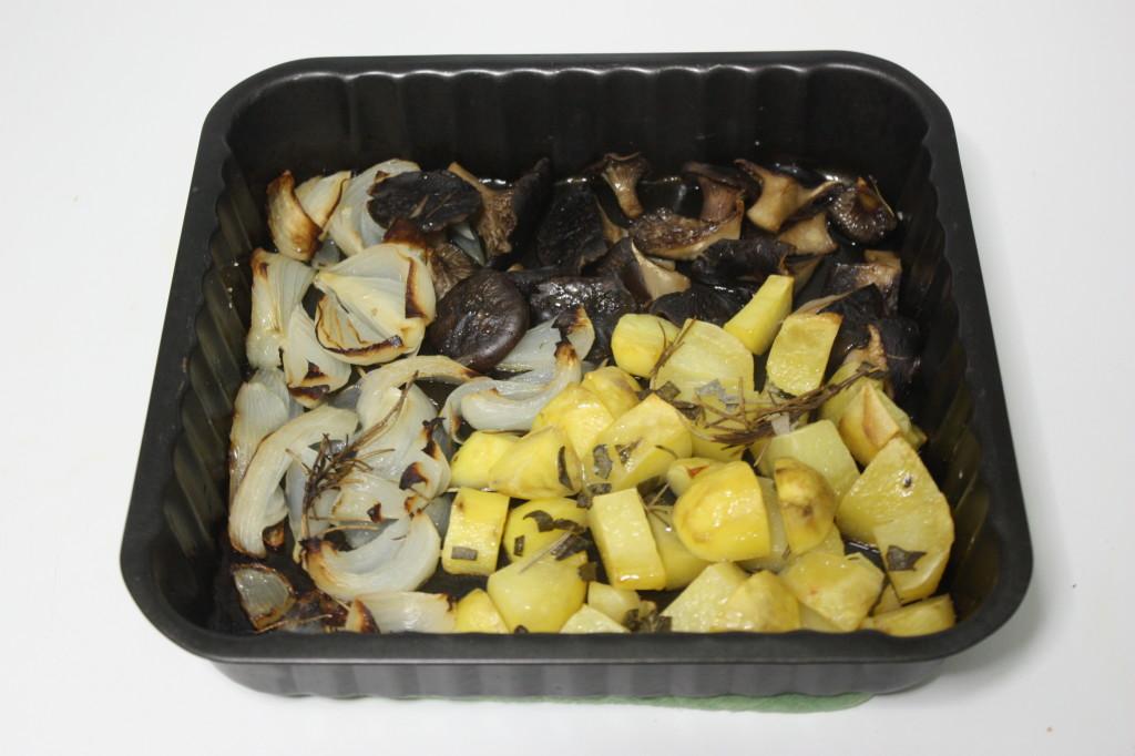 Verdure al forno - teglia pronta